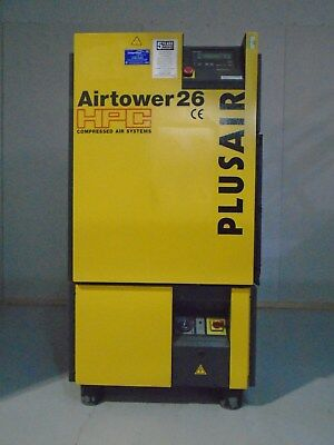 Hpc Plusair Airtower 26 Compressor/dryer & Receiver & Oil Separator