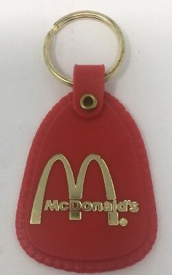 Vintage McDonald's Golden Arches Manager  Key Ring FOB  Advertising Promotion