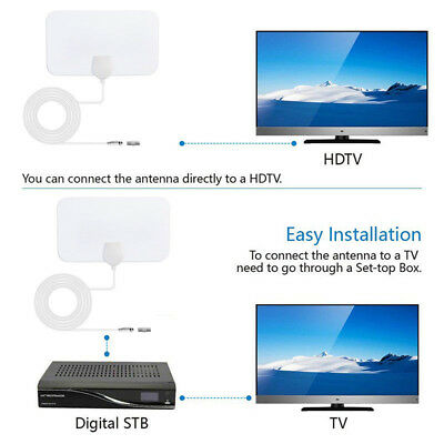 200 Mile Range Antenna TV Digital HD Skylink 4K Antena Digital Indoor HDTV New