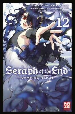 Seraph of the End 12  KAZE 9782889217953 Manga