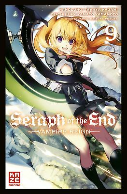 Seraph of the End 09 - KAZE 9782889217922 Manga