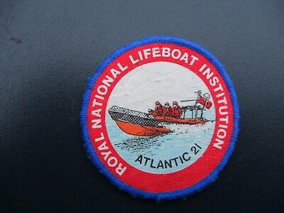Abzeichen Royal National Lifeboat Instituiton, Atlantic 21, SAR, Irland, DGzRS