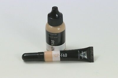 The Perfect Combo!! Nip + Fav Foundation In 20 & Concealer In 10 Swatched Once !