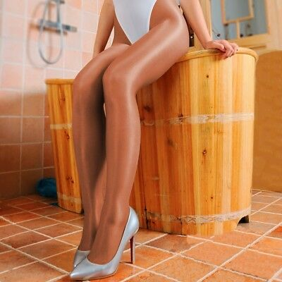 Women 70D Thick Pantyhose Stretchy Shiny Glossy Stockings Pantyhose Dance Tights