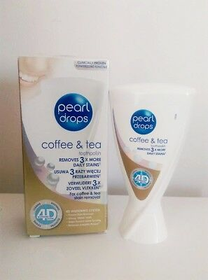 Pearl Drops Restore White Tea & Coffee Drinkers Teeth Whitening removes stains