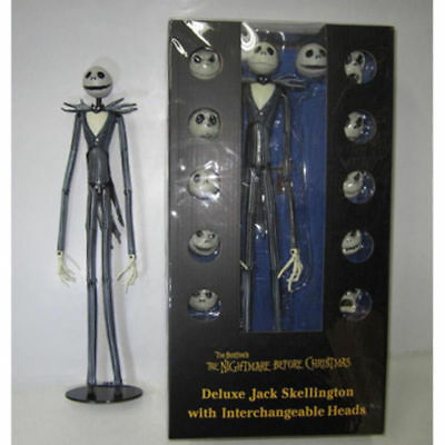 The Nightmare Before Christmas Jack Skellington Action Figure 38cm W/Box Gift UK