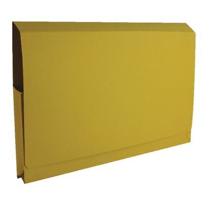 Guildhall Yellow Full Flap Pocket Wallet (Pack of 50) [GH14018]