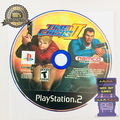 Time Crisis II (Sony PlayStation 2, 2001) PS2 Game Disc Only