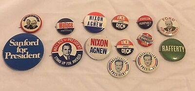 Not vintage political campaign buttoms for