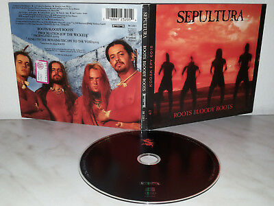 Cd Sepultura - Roots Bloody Roots