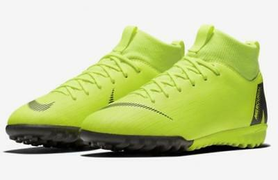 online store bb8b9 5cad0 Nike JR Mercurial Superfly 6 Academy TF Kid s Turf Soccer Shoes AH7344-701  1810