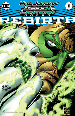 Hal Jordan and the Green Lantern Corps Rebirth Issue #1 (2016) Bagged & Boarded!