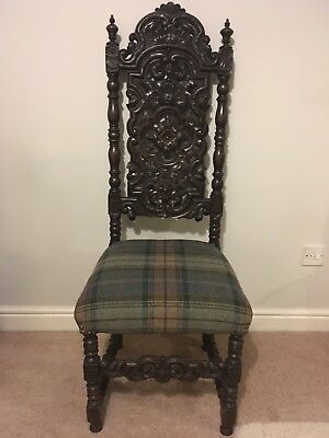 Carved Jacobean Style Chair