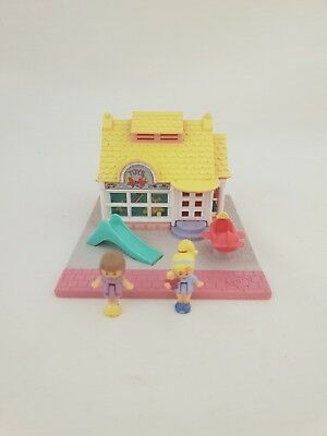 Vintage Polly Pocket TOY SHOP 100% complete 1993 By bluebird toys