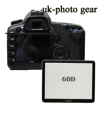 New LCD Monitor Cover Screen Protector for Canon 60D