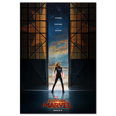 Captain Marvel Movie Poster - Official Art - High Quality Prints