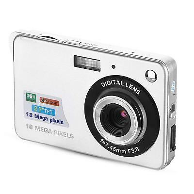 "2.7"" LCD HD 18MP Digital Camera Mini Camcorder Video Camera Vlogging"
