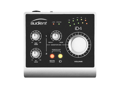 Audient iD4 - 2in/2out Audio Interface with ARC Creative Hub & Pro Tools First