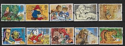 1) GB Stamps 1994 Greetings Letters. Good Used Set.