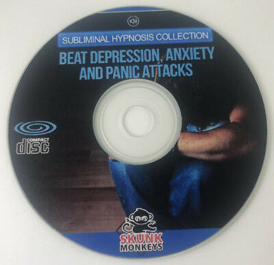 Hypnosis For Depression Anxiety And Panic Attacks CD MP3 Included Free Shipping
