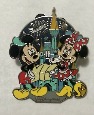 Disney Mickey Minnie Mouse Trading Lapel Pin Collectible Enamel Magic Kingdom
