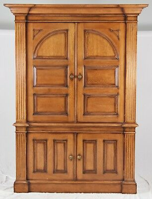 BAKER Furniture Milling Road Grafton ARMOIRE Wardrobe Cabinet made in Italy