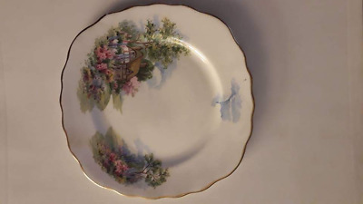 Vintage Royal Vale bone china English  saucer plate antique