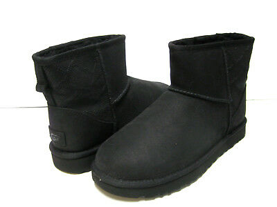 9a749cde3a2 UGG CLASSIC SHORT Leather Women Boots Black Us 8 /uk 6.5 /eu 39.5 ...