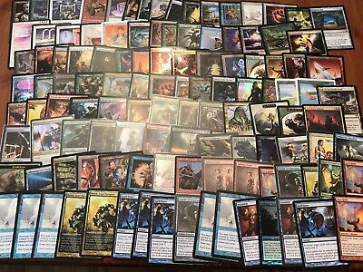 Mtg Magic The Gathering Large Collection. Foils Staples Old And New.