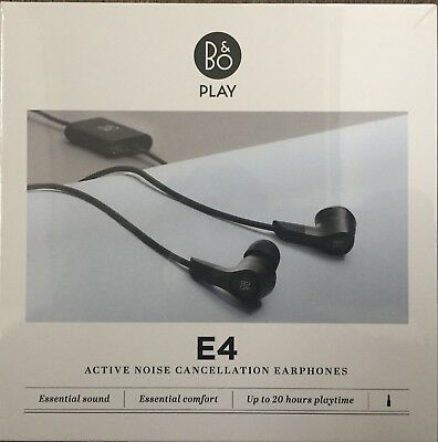 7c6ec3b5570 Bang & Olufsen B&O Play Beoplay E4 Noise Cancelling Earphones - BRAND NEW  BOXED