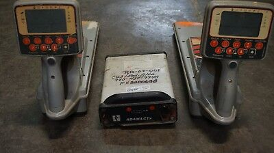 Radiodetection Brand Locator set Model PXL2-FD1 with Transmitter Rd400LCTx