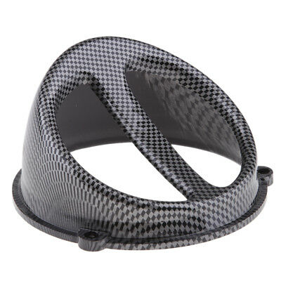 Carbon Fiber Color Air Scoop Fan Cover Cap Fits for GY6 125/150cc Scooter