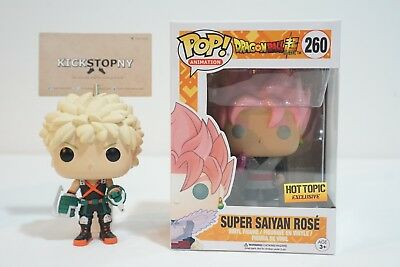 Funko Pop! Animation Dragon Ball Super Saiyan Rose Goku Black Hot Topic IN HAND