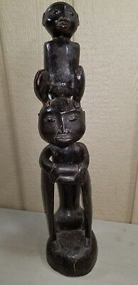 "27"" African Wood Carved Sculpture"
