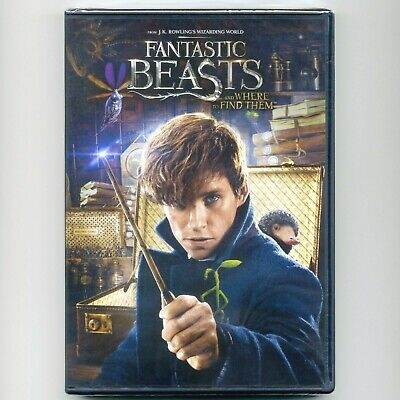 Fantastic Beasts and Where to Find Them 2016 PG-13 movie, new DVD Eddie Redmayne