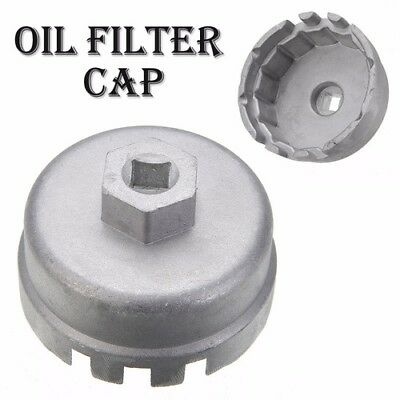 14 Flutes Cap Oil Filter Wrench Housing Tool Remover For TOYOTA Corolla Lexus