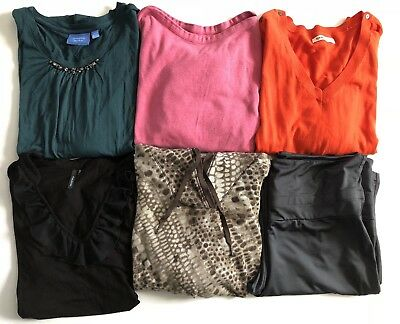 Womens Size Large Lot Of Clothes Tops Yoga Pants All Seasons