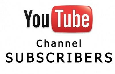 20 REAL YouTube Subs - High Quality and will Never Drop - BEST SERVICE ON EBAY