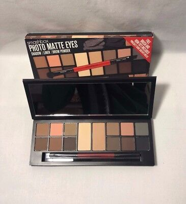 Smashbox Eye Palette Photo Matte Eyes Shadow/ Liner/ Brow Power 14g/0.49oz Sets