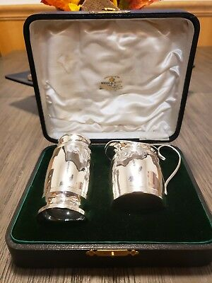 Sterling Silver Sugar & Creamer Set