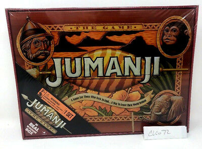New Sealed  Jumanji Board Game Real Wood Wooden Box Case Edition Priority Ship