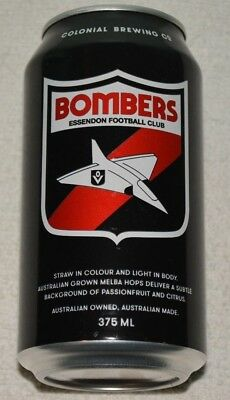 Essendon Bombers Football Club Afl Colonial Brewing Beer - Very Limited Edition