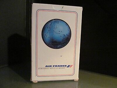 vintage AIR FRANCE AIRLINE playing cards French line red blue EC deck pack