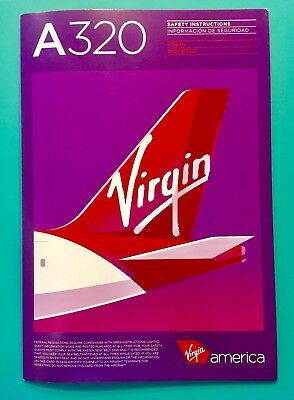 Dec 2017 Virgin America Safety Card--Airbus 320 Etops Rev#2