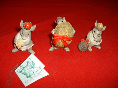 Three Wise Mice by Dean Griff Charming Tails 87548 Nativity Figurine