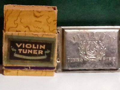 Vintage Violin Tuner Tuning Pipe Made In Czechoslovakia