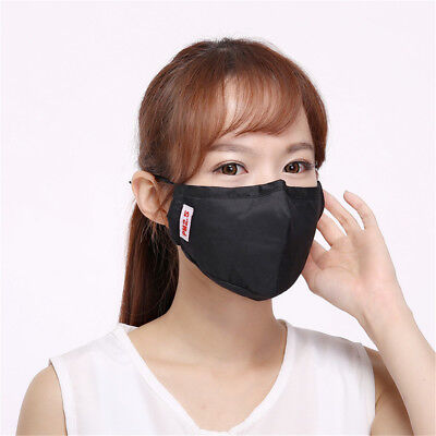 Unisex Fashion Health Cycling Anti-Dust Cotton Mouth Face Mask Respirator A