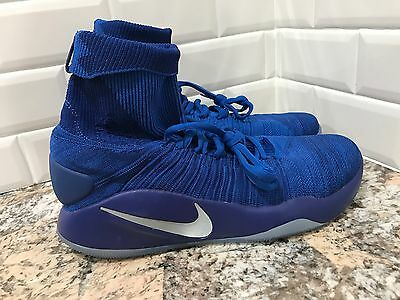 25c399653a3453 ... best authentic Nike Hyperdunk 2016 FK Mens SZ 12 Basketball Elite Game  Royal Blue 843390- ...