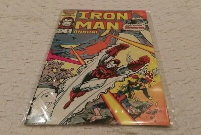 Marvel Comics - IRON MAN ANNUAL #8 - 1986 - 8/10+ CONDITION - BEAUTIFUL AND RARE