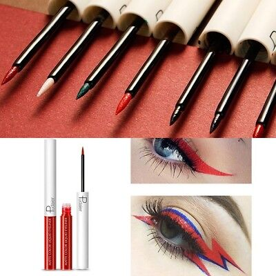 15 colori Liquid Dip Eyeliner Matte Eyes liner con pennello Beauty Makeup Supply
